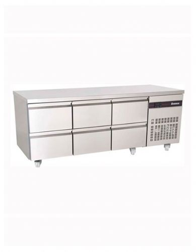 Inomak PN222-ECO 6 Drawer 1/1 Gastronorm Counter 429L